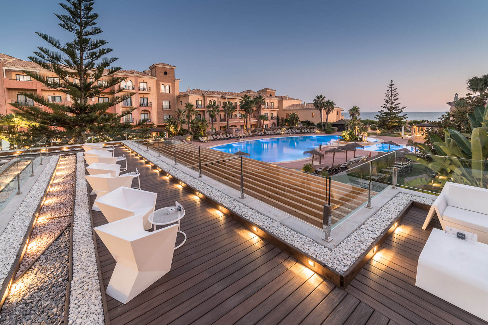 Terraza Vip Hotel Barcelo Punta Umbría Mar
